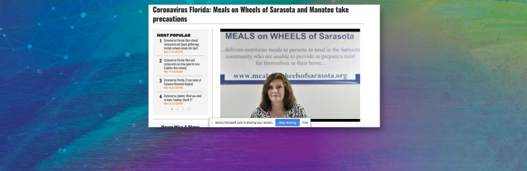 Meals on Wheels of Sarasota Kicks Off Annual March for Meals